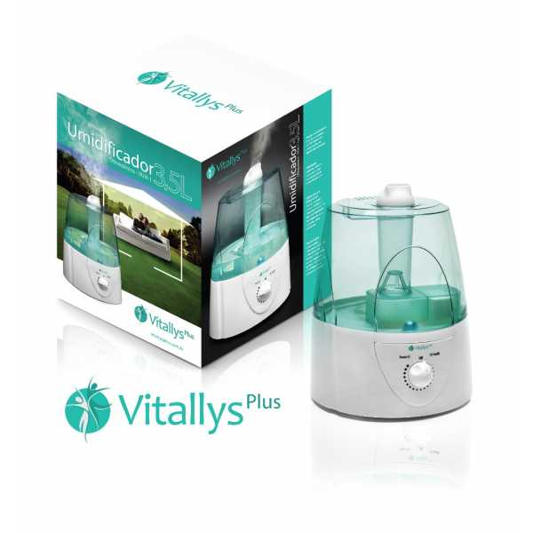 Umidificador Ultrassônico Vitallysplus VUH-1